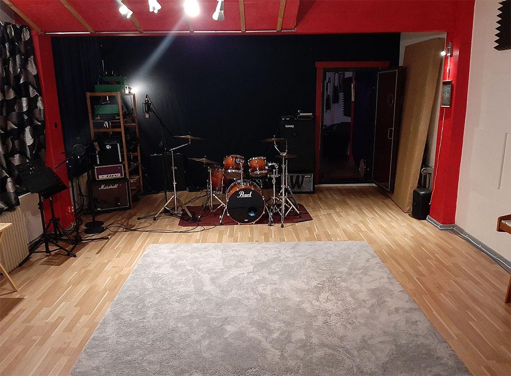 Pulu Studio soittohuone