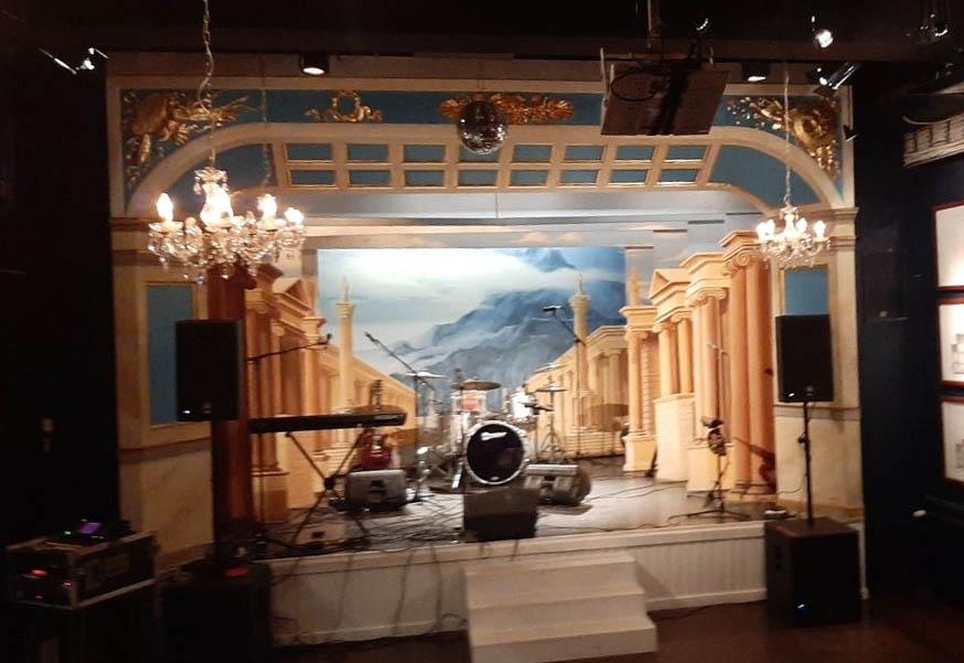 Teatterimuseo - stage