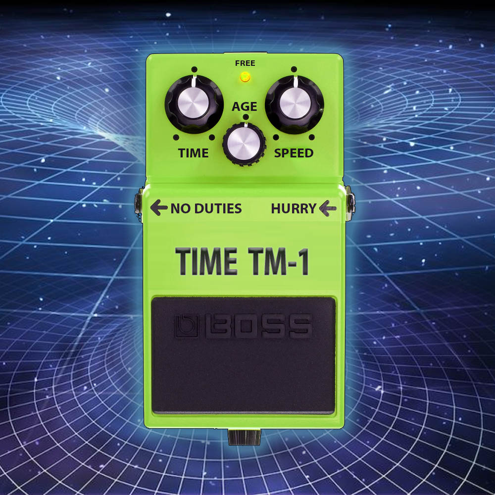 Boss TM-1 Time Pedal - More time to play guitar